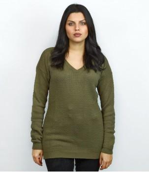 Дамска плетена блуза