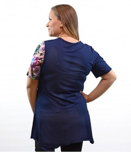 Дамска туника с джоб макси
