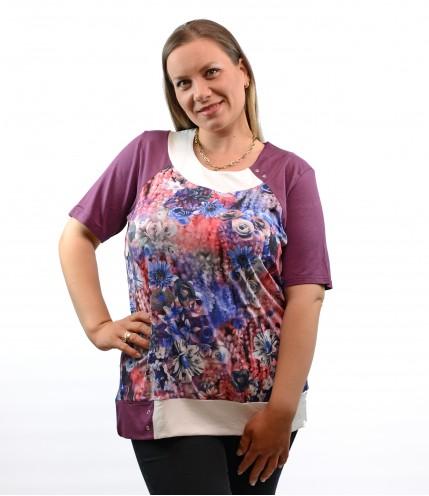 Страхотна блуза макси
