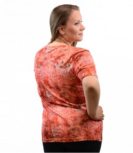 Красива блуза макси