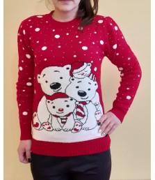 Коледна блузка с меченца