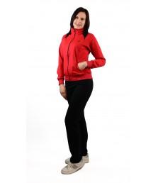 Дамски спортен комплект без качулка българско производство