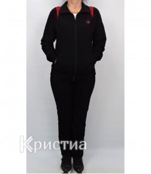 Дамски спортен комплект без качулка българско производство гигант