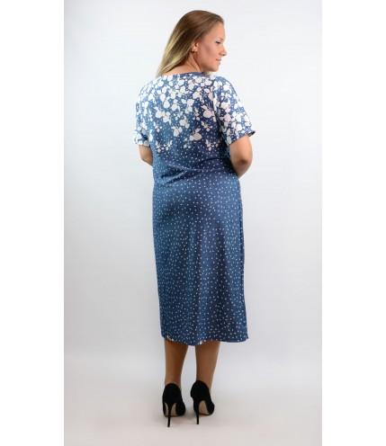 Елегантна макси права рокля