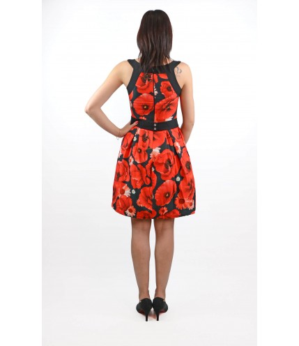 Дамска ефектна рокля