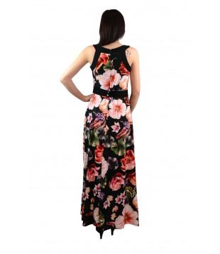 Дълга елегантна рокля