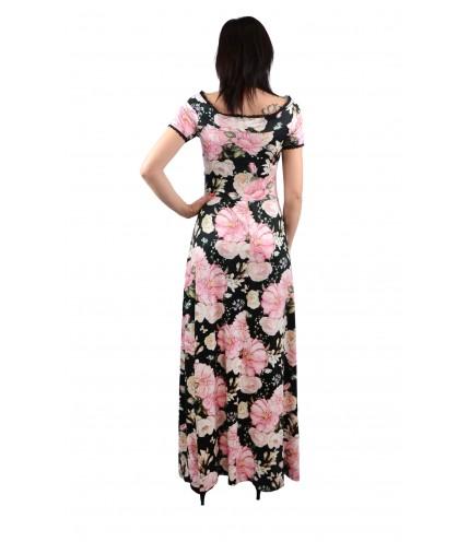 Дълга рокля с дантела