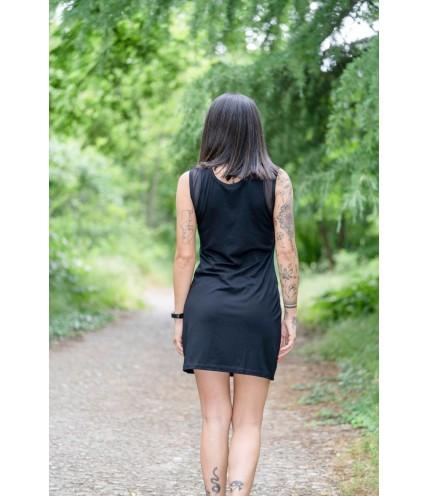 Спортна къса рокля с лента