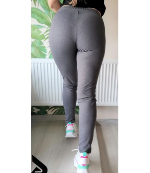 Дамско  вталено спортно долнище макси  DH