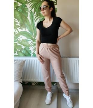 Дамски спортен панталон с висока талия  - Българско производство