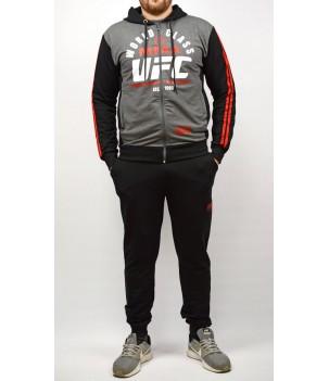 Мъжки спортен комплект UFC  ММА с качулка - Български