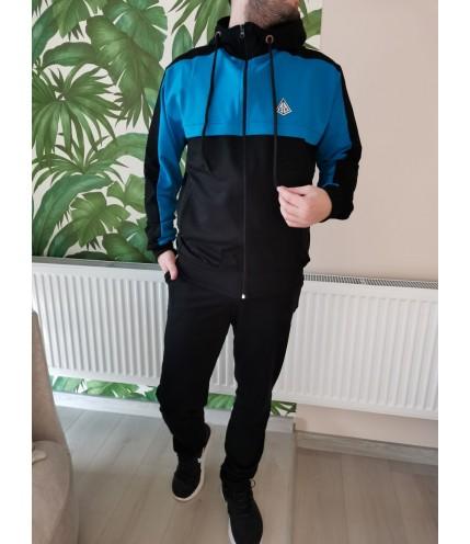 Мъжки спортен комплект с качулка Български