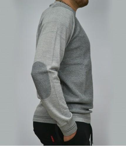 Мъжки пуловер с ефект Българско производство