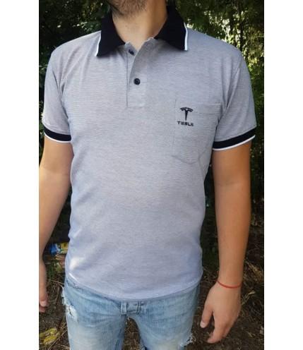 Спортна риза с джоб, макси