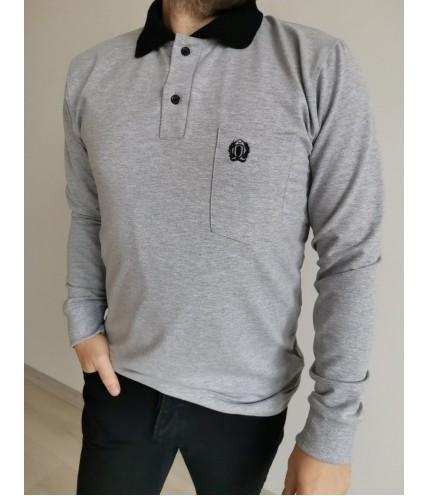 Спортна мъжка риза с дълъг ръкав  гигант