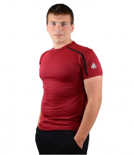 Мъжки тениски с къс ръкав с обло деколте